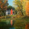 Ole Red Barn  Oil Painting