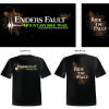 Woolly Hollow State Park's Enders Fault Mountain Bike Trail T-shirt design and overlay