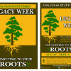 Arkansas State Parks- Legacy Week  Logo and Flyer
