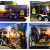 Lake Charles State Park's Trailer Wrap-Featuring the Historic Artillery Demonstration Team