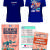 45th Annual Governor's Conference on Tourism t-shirt design, discount ticket and name badge